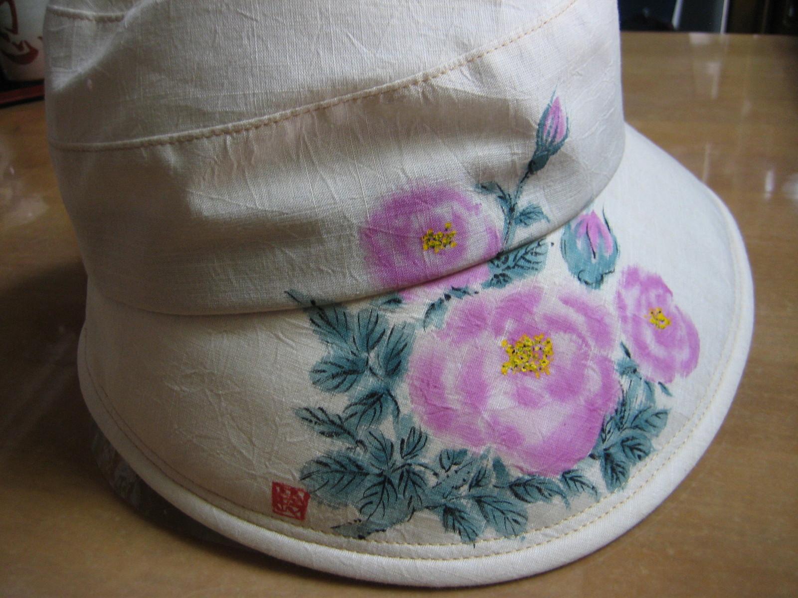 薔薇 マダム・ピエール・オジェの花の帽子