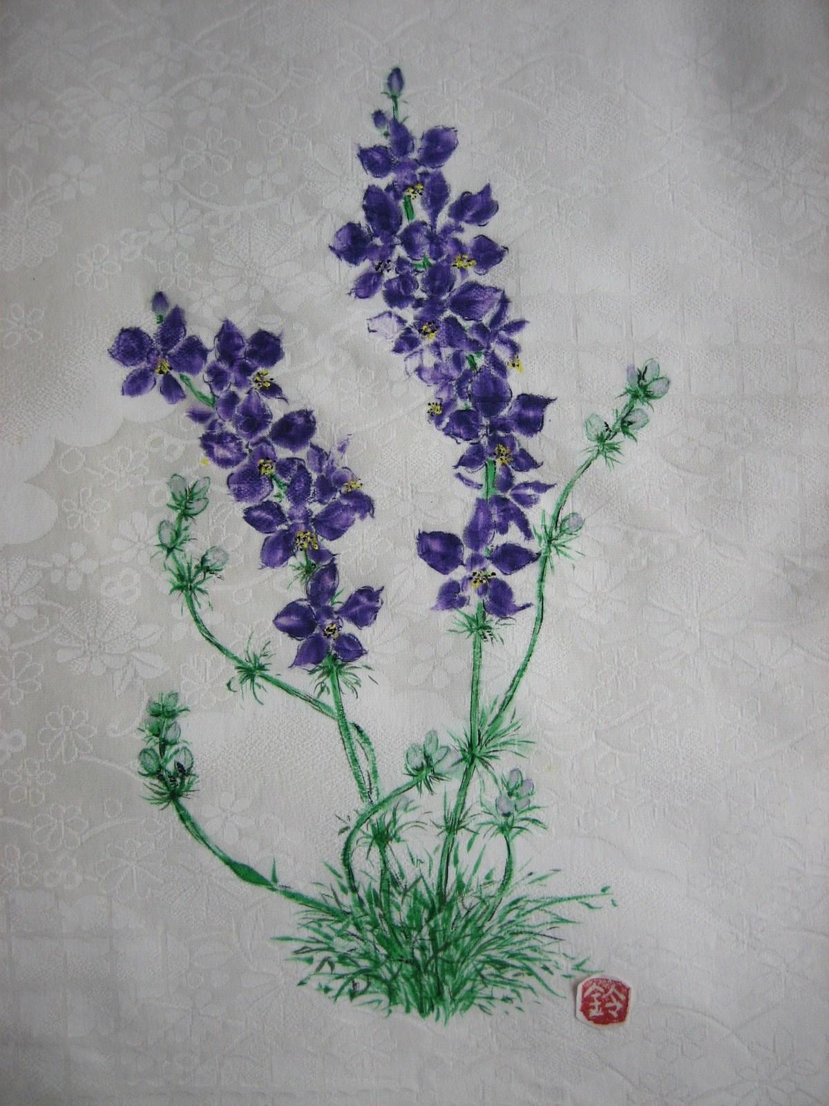 千鳥草の花